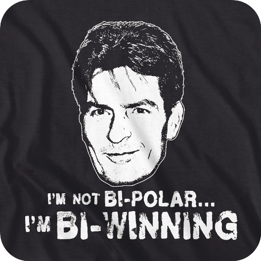 charlie sheen winning picture. charlie sheen bi winning