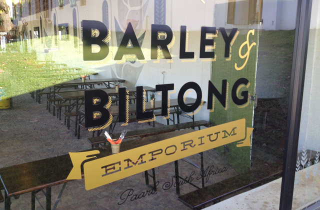 barley and biltong