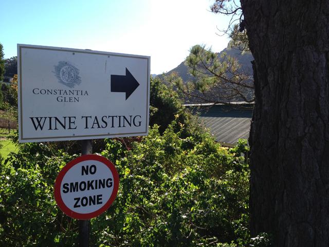 wine tasting constantia glen