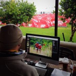One of the Cape Epic photo editors. He goes through +-7000 photos a day
